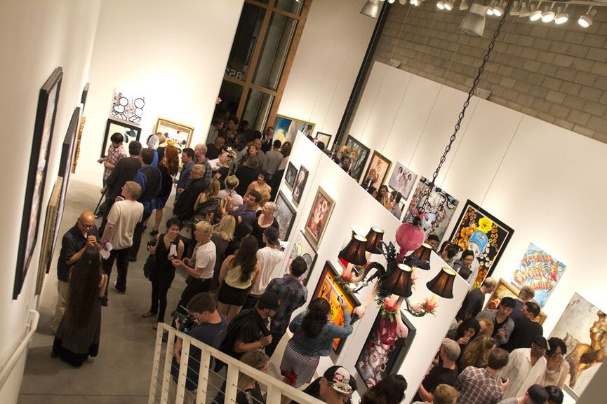 Corey Helford Gallery Heart LA Art Community