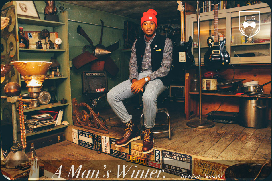 mens winter look book the desert bixby the american steeler and the urban conductor