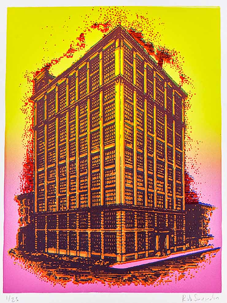 """New Print of """"475 Kent"""" in Brooklyn Benefits Artists Who Built Community"""
