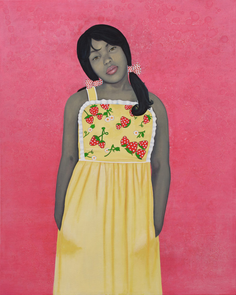 Amy Sherald, They Call Me Redbone, But I'd Rather Be Strawberry Shortcake (2009). Courtesy of the artist and Hauser & Wirth, ©Amy Sherald.