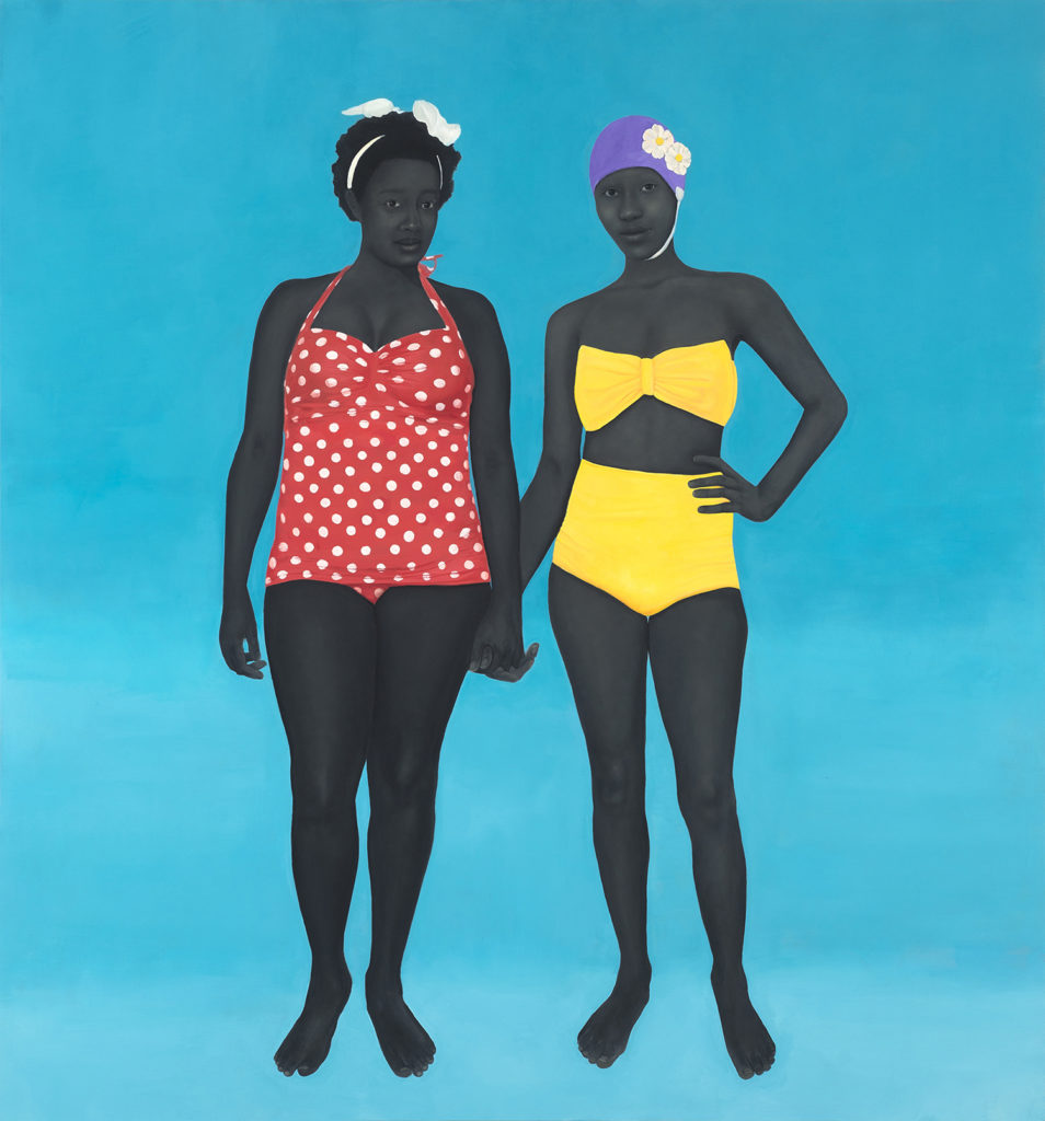 Amy Sherald, The Bathers (2015). Courtesy of the artist and Hauser & Wirth, ©Amy Sherald.