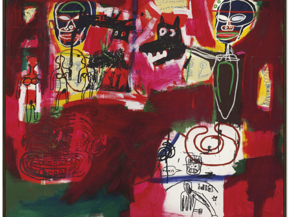 Jean-Michel Basquiat sold for $10.7 million.