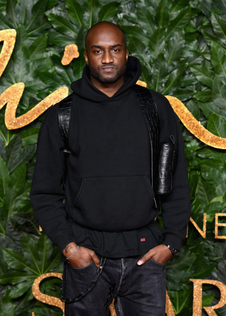 Virgil Abloh. Photo by Jeff Spicer and courtesy Getty Images.