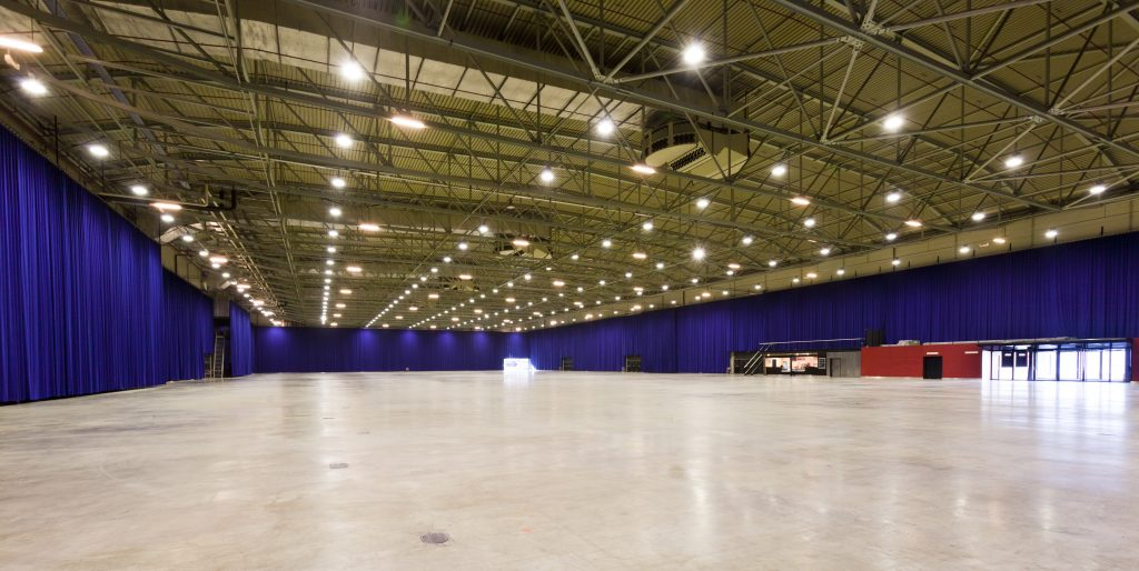 Hall 1 of the Rotterdam Ahoy. Photo: CB Images.