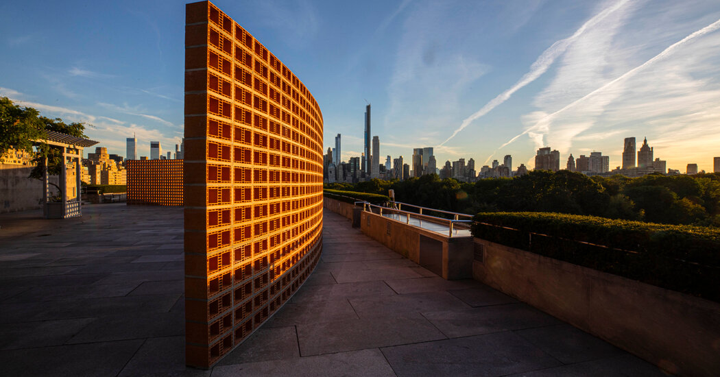 What's That on the Met's Roof Garden? A Big, Beautiful Wall