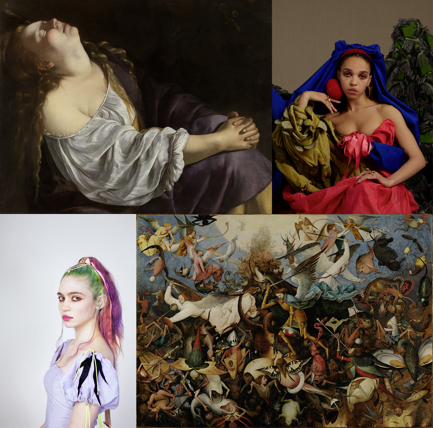 Grimes, FKA Twigs, and Other Pop Stars Are Giving Free Art-History Lessons to Anyone With a Computer | artnet News