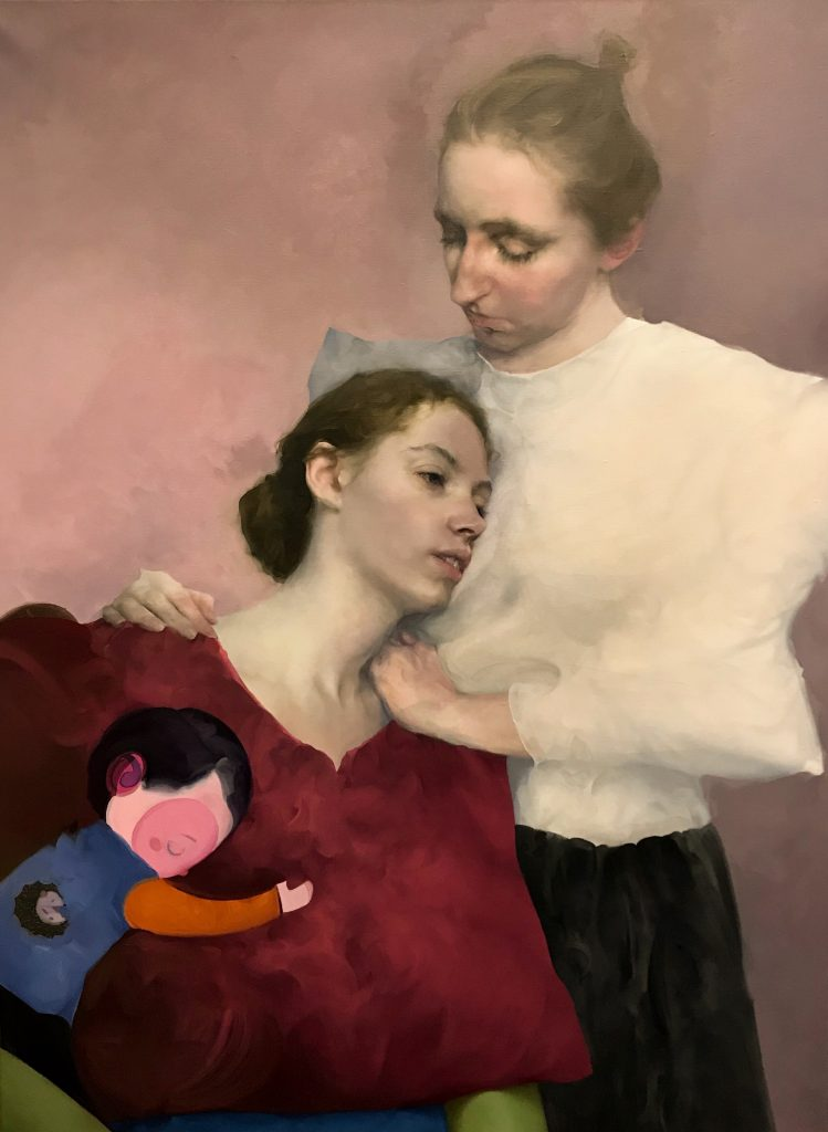 """Shiqing Deng, <em>Hug</em>. Photo courtesy of the New York Academy of Art. """" width=""""749″ height=""""1024″ srcset=""""https://www.antheamissy.com/wp-content/uploads/2020/10/What-I-Buy-and-Why-Actress-Brooke-Shields-on-the.jpeg 749w, https://news.artnet.com/app/news-upload/2020/10/Deng_Shiqing_Hug-219×300.jpeg 219w, https://news.artnet.com/app/news-upload/2020/10/Deng_Shiqing_Hug-37×50.jpeg 37w, https://news.artnet.com/app/news-upload/2020/10/Deng_Shiqing_Hug-1405×1920.jpeg 1405w"""" sizes=""""(max-width: 749px) 100vw, 749px""""/></p> <p class="""