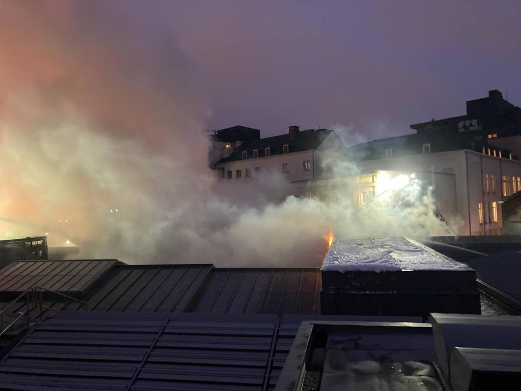 Nearly 100 Firefighters Put Out a Devastating Fire at the Center for Fine Arts in Brussels | artnet News