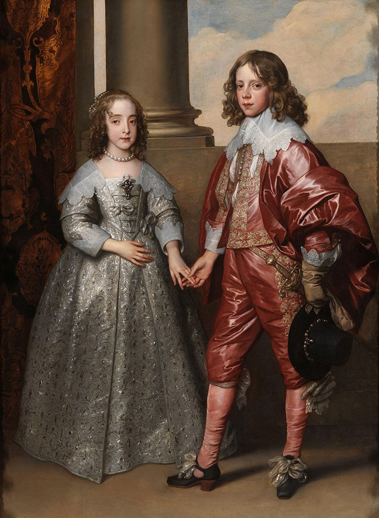 Anthony van Dyck, William II, Prince of Orange, and his Bride, Mary Stuart (1641). Courtesy of the Rijksmuseum, Amsterdam.