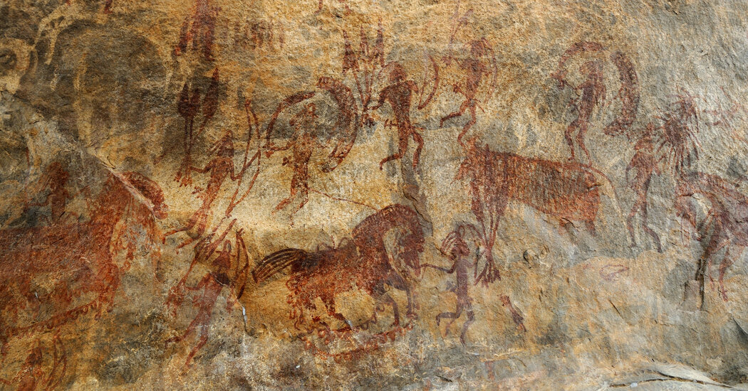 A Natural Work of Art May Be Hiding Among Indian Cave Masterpieces