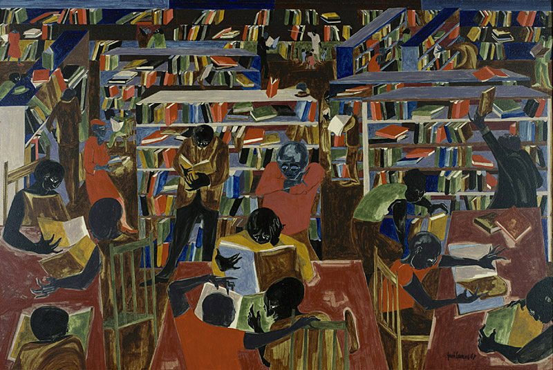 """Jacob Lawrence, <i>Dream Series #5: The Library</i> (1967). Funds provided by the National Endowment for the Arts, the Collectors' Circle, the Henry D. Gilpin and John Lambert Funds, and the Pennsylvania Academy Women's Committee"""" width=""""800″ height=""""535″ srcset=""""https://www.antheamissy.com/wp-content/uploads/2021/03/1617055261_31_Editors-Picks-11-Events-for-Your-Art-Calendar-This-Week.jpg 800w, https://news.artnet.com/app/news-upload/2021/03/JACOB-LAWRENCE_PAFA_1987_34_l-copy-300×201.jpg 300w, https://news.artnet.com/app/news-upload/2021/03/JACOB-LAWRENCE_PAFA_1987_34_l-copy-50×33.jpg 50w"""" sizes=""""(max-width: 800px) 100vw, 800px""""/></p> <p class="""