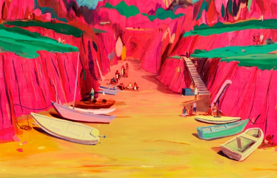 After the Gold Rush: Jules de Balincourt @ CAC Malaga, Spain