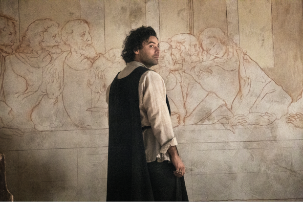 """Aidan Turner as the title character in the new Amazon series <em>Leonardo</em>. Production still courtesy of Amazon Prime."""" width=""""620″ height=""""413″ srcset=""""https://www.antheamissy.com/wp-content/uploads/2021/04/The-Fictional-Tale-of-Leonardo-Da-Vincis-Role-in-a.png 620w, https://news.artnet.com/app/news-upload/2021/04/LEONARDO_AIDAN_TURNER-caf82d2-300×200.png 300w, https://news.artnet.com/app/news-upload/2021/04/LEONARDO_AIDAN_TURNER-caf82d2-50×33.png 50w"""" sizes=""""(max-width: 620px) 100vw, 620px""""/></p> <p class="""