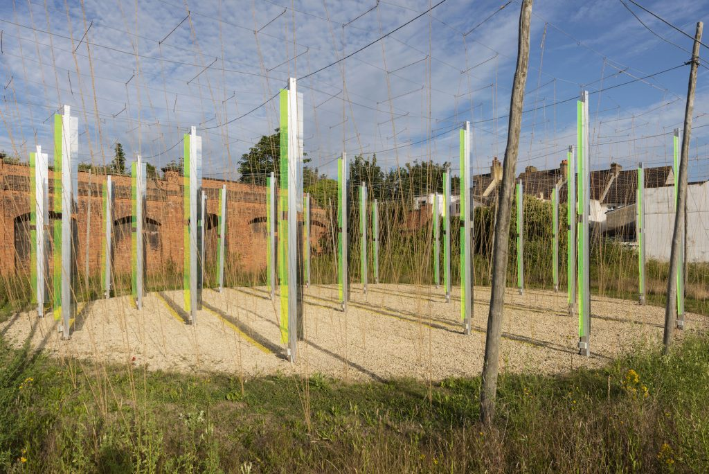 Jyll Bradley, Green _ Light (For M.R.. Commissioned for Creative Folkestone Triennial 2014. Photo by Thierry Bal.