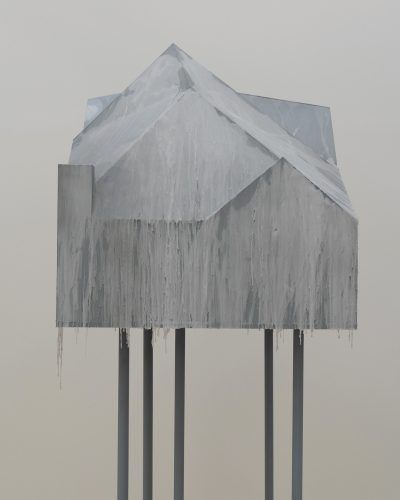 Charbel-joseph H. Boutros, The Booth, The Gallerist and The Mausoleum, 2021.
